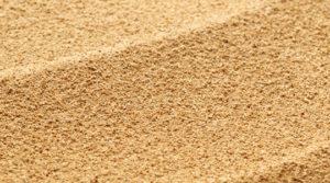 imagen de arena lavada de río en formato granel